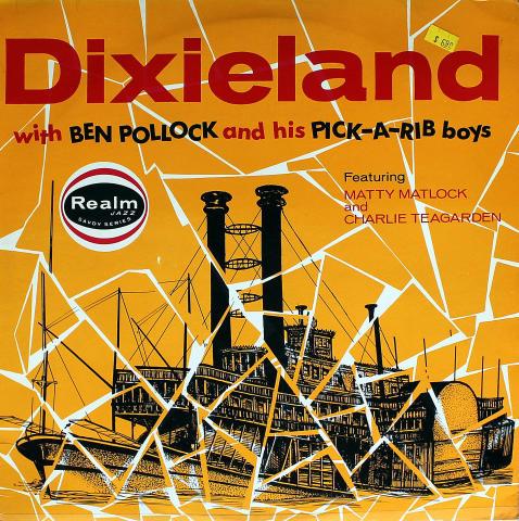 "Ben Pollock And His Pick-A-Rib Boys Vinyl 12"""