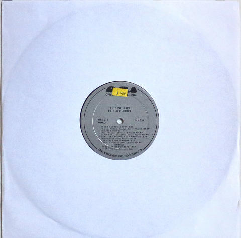"Flip Phillips Vinyl 12"""
