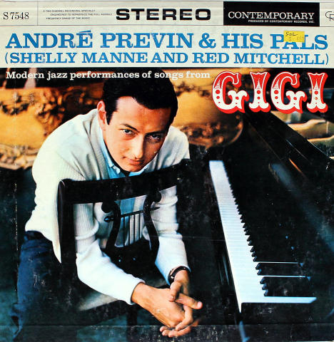 """Andre Previn And His Pals Vinyl 12"""""""