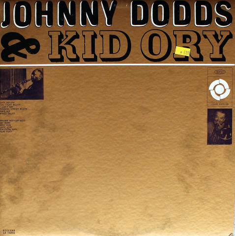 "Johnny Dodds & Kid Ory Vinyl 12"""