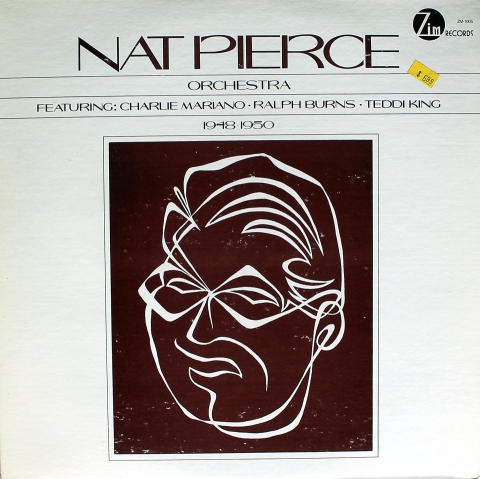 """Nat Pierce Orchestra Vinyl 12"""""""