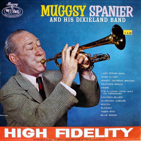 """Muggsy Spanier And His Dixieland Band Vinyl 12"""""""