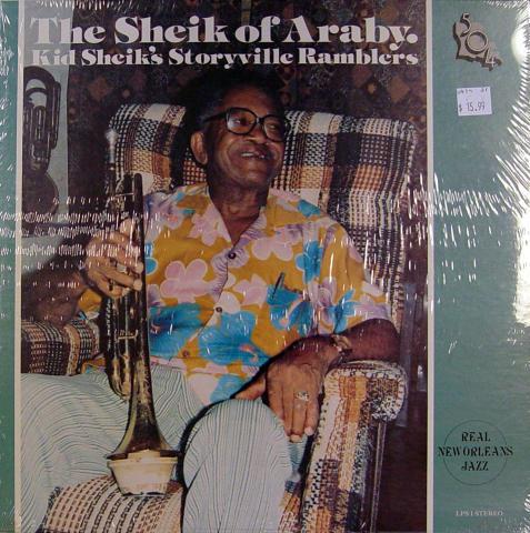 """Kid Sheik's Storyville Ramblers Vinyl 12"""""""