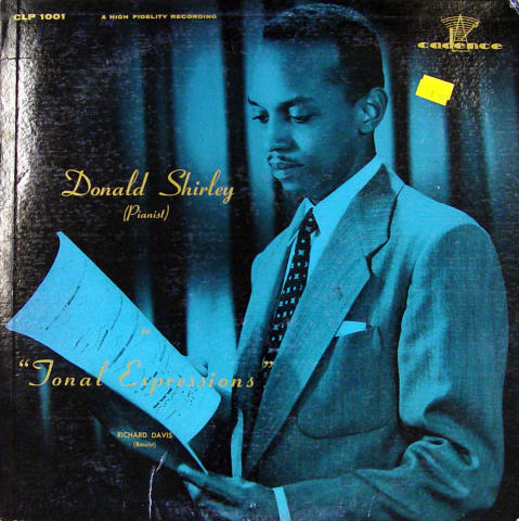 "Donald Shirley Vinyl 12"""
