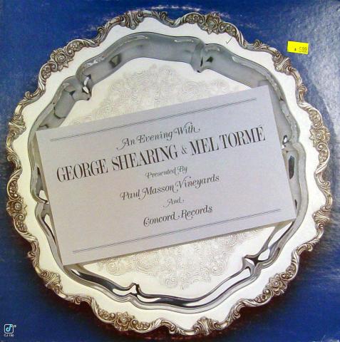 "George Shearing & Mel Torme Vinyl 12"""