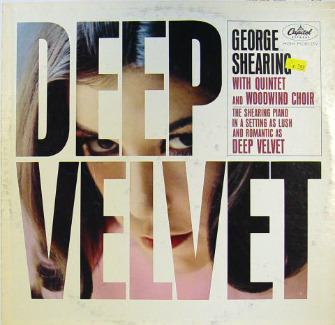 """George Shearing With Quintet And Woodwind Choir Vinyl 12"""""""