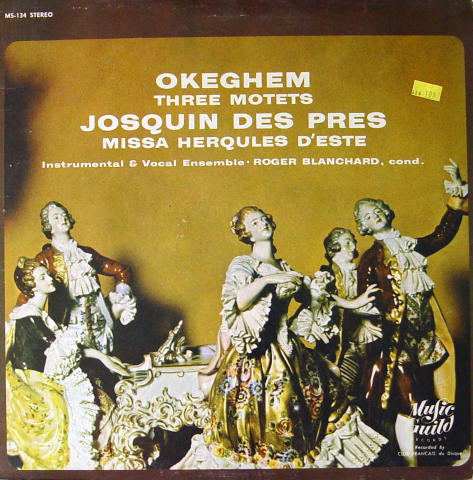 """Three Motets / Missa Herqules D'Este Vinyl 12"""""""