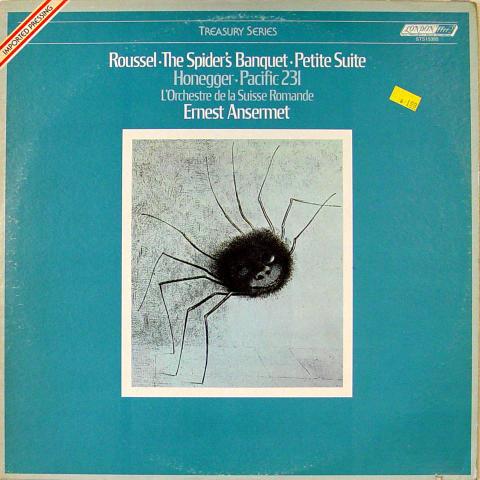 "The Spider's Banquest - Petite Suite / Pacific 231 Vinyl 12"""