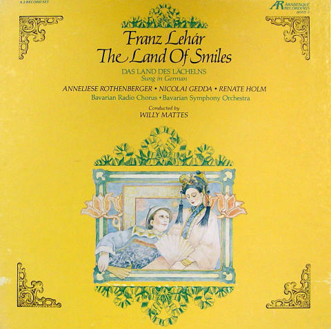 The Land Of Smiles Vinyl 12""