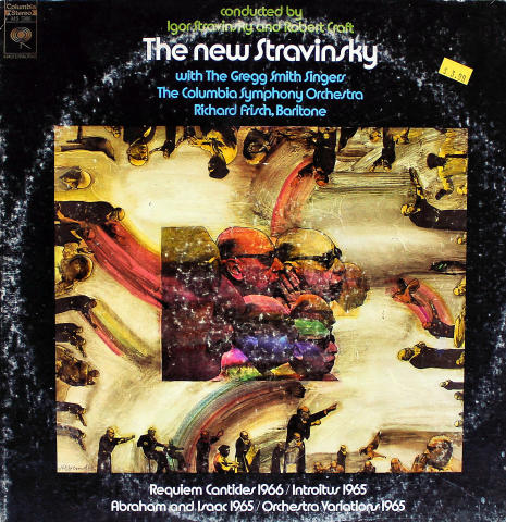 "Igor Stravinsky / Robert Craft Vinyl 12"""