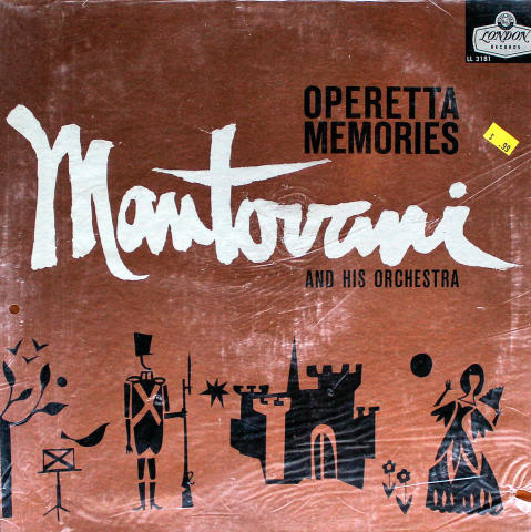 Mantovani & His Orchestra Vinyl 12""