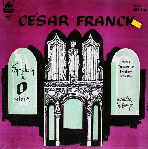 "Cesar Franck Vinyl 12"""