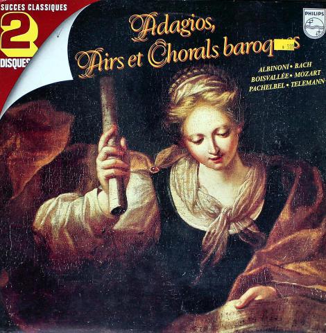 """Adagios, Airs Et Chorals Baroques Vinyl 12"""""""