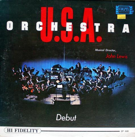 """Orchestra U.S.A. Vinyl 12"""""""