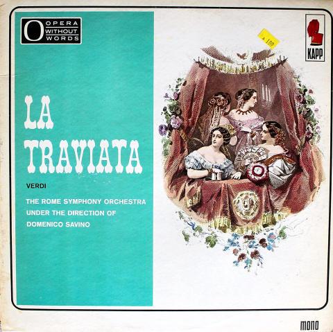 """La Traviata Vinyl 12"""""""