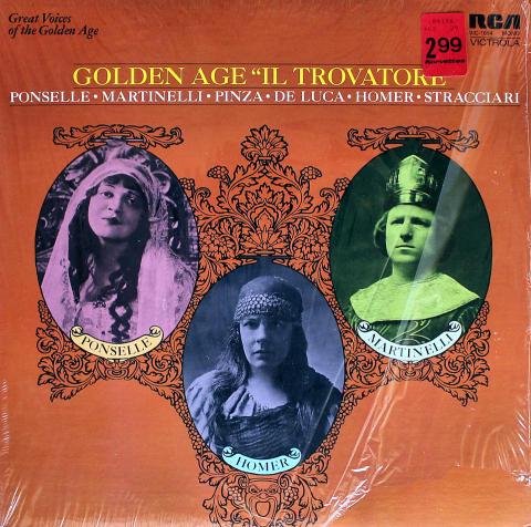 """Golden Age """"Il Trovatore"""" Vinyl 12"""""""