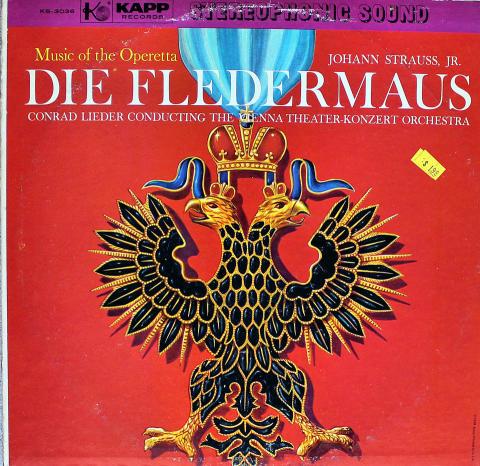 """Die Fledermaus Vinyl 12"""""""