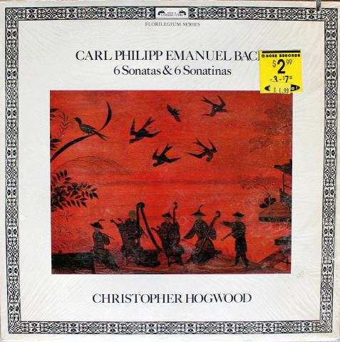 """Christopher Hogwood Vinyl 12"""""""