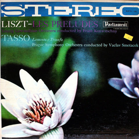 """Les Preludes / Lamento E Trionfo Vinyl 12"""""""