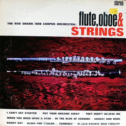 "Bud Shank / Bob Cooper Vinyl 12"""
