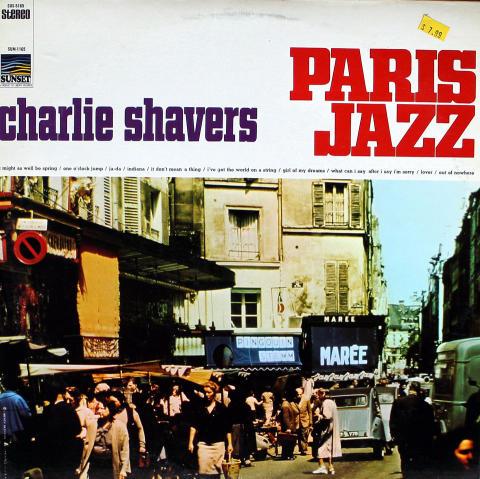 "Charlie Shavers Vinyl 12"""