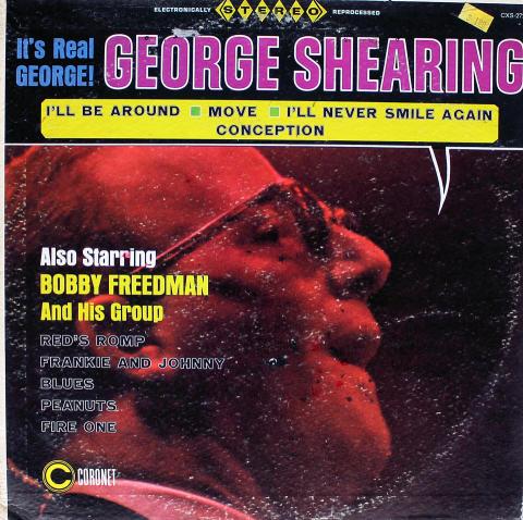 "George Shearing / Bobby Freedman Vinyl 12"""