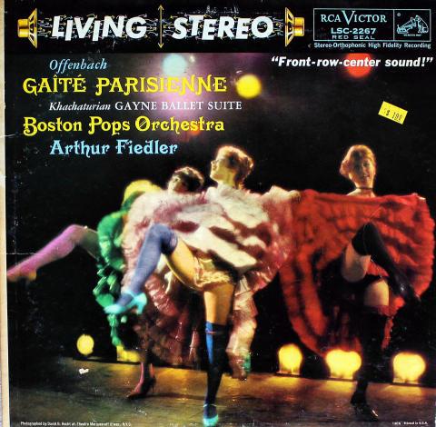 "Gaite Parisienne / Gayne Ballet Suite Vinyl 12"""