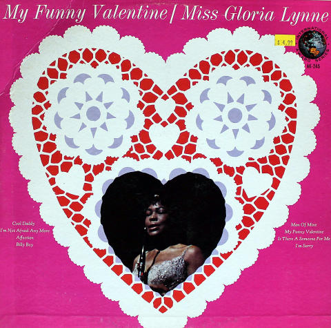 "Miss Gloria Lynne Vinyl 12"""