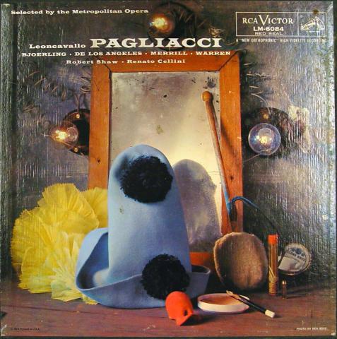"""Pagliacci Vinyl 12"""""""