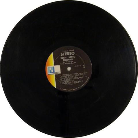 "Lee Konitz / Gerry Mulligan Vinyl 12"""