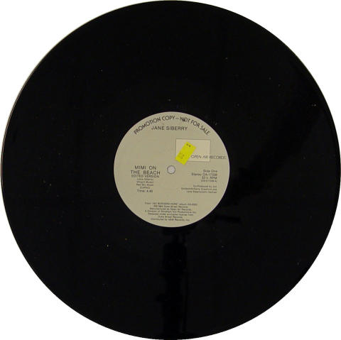 "Jane Siberry Vinyl 12"""