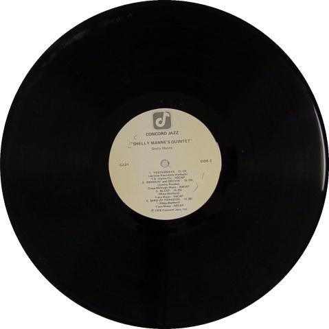 """Shelly Manne Vinyl 12"""""""