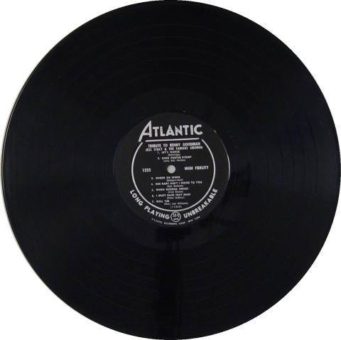 "Jess Stacy & The Famous Sidemen Vinyl 12"" (Used)"