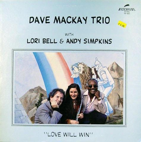 "Dave Mackay Trio Vinyl 12"""