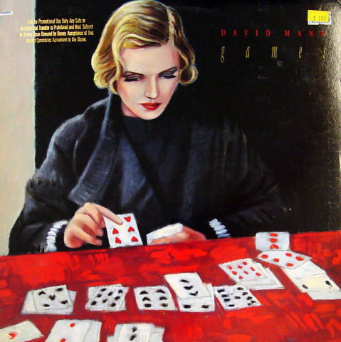 "David Mann Vinyl 12"""