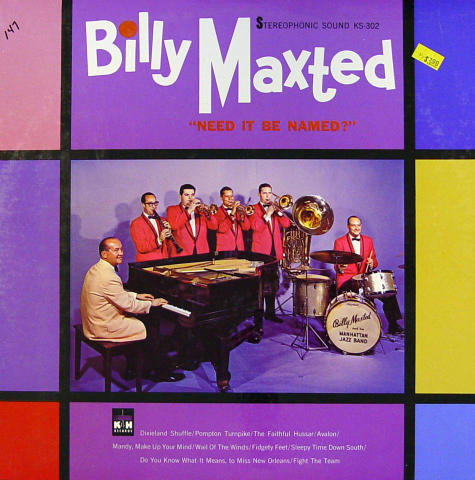 """Billy Maxted And His Manhattan Jazz Band Vinyl 12"""""""