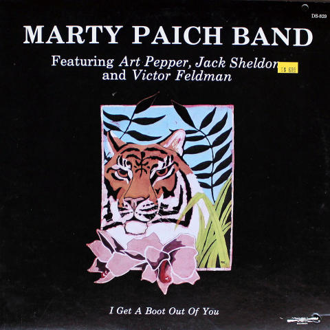 Marty Paich Band Vinyl 12""