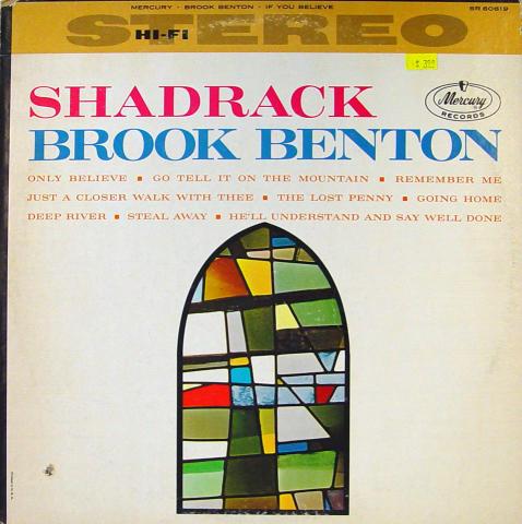 """Brook Benton Vinyl 12"""""""