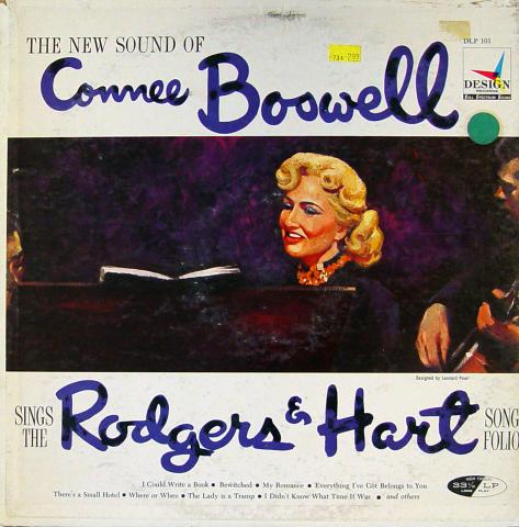 "Connee Boswell Vinyl 12"""