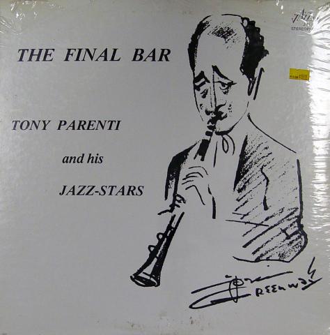 "Tony Parenti And His Jazz-Stars Vinyl 12"""