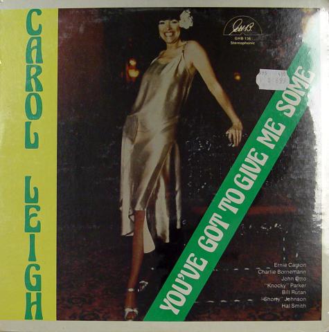 "Carol Leigh Vinyl 12"""