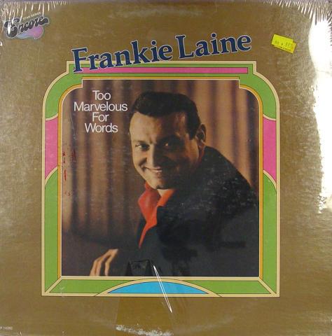 "Frankie Laine Vinyl 12"""