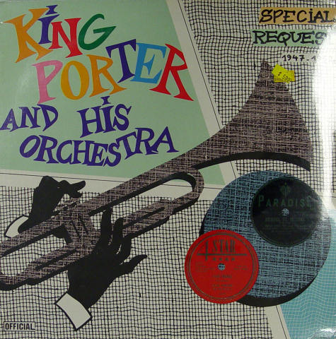 """King Porter And His Orchestra Vinyl 12"""""""