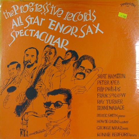 "The Progressive Records All Star Tenor Sax Spectalcular Vinyl 12"""