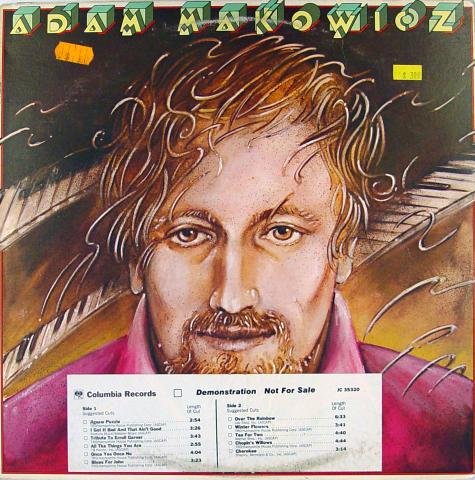 "Adam Makowicz Vinyl 12"""