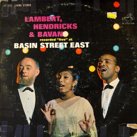 "Lambert, Hendricks & Bavan Vinyl 12"""