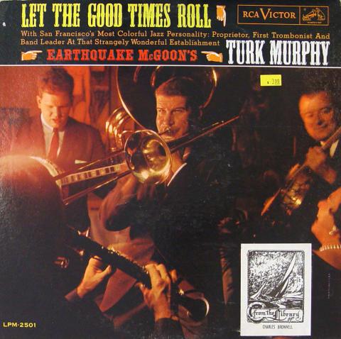"Turk Murphy & His San Francisco Jazz Band Vinyl 12"""