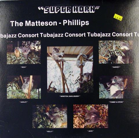 "The Matteson-Phillips Tubajazz Consort Vinyl 12"""