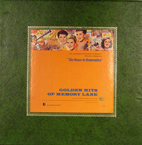 """Golden Hits Of Memory Lane Vinyl 12"""""""