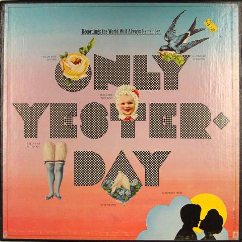"""Only Yesterday Vinyl 12"""""""